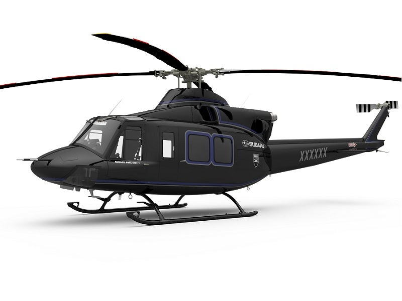 Bell 412EPI commercial helicopter served as the basis for the UH-X utility helicopter. Image courtesy of Textron Inc.