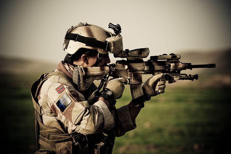 HK416 rifle