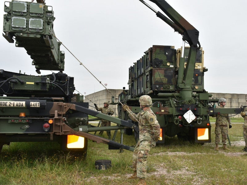 The M901 launching station is used to transport, point and launch the Patriot missile. Credit: Capt. Marion Jo Nederhoed