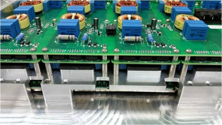 Power supply Production Photo