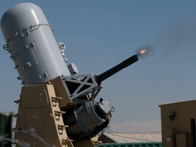 Phalanx land-based weapon system