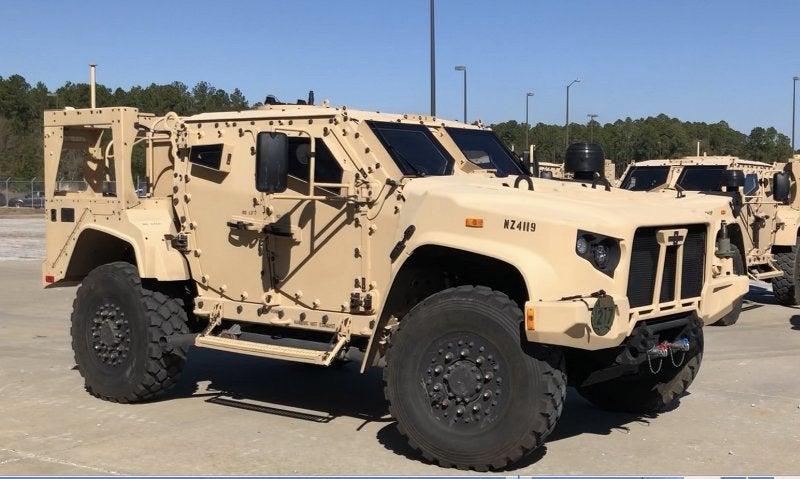 US army first JLTV