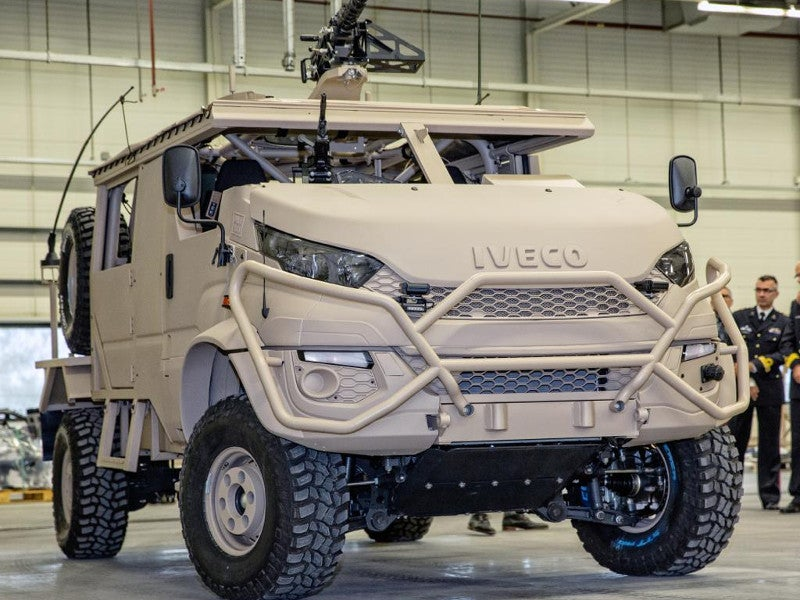 DMV Anaconda armoured vehicle was developed by Deba Trucks. Image courtesy of Deba Bedrijfswagens B.V.