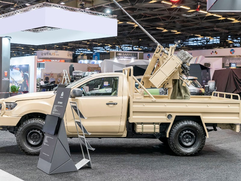 Arquus Trigger Light Tactical Vehicle