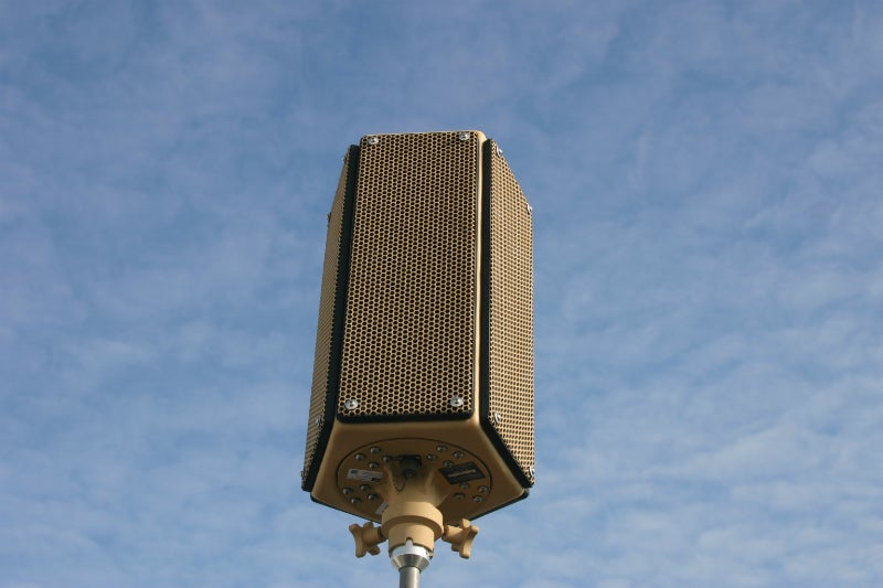 pan and tilt system acoustic technology