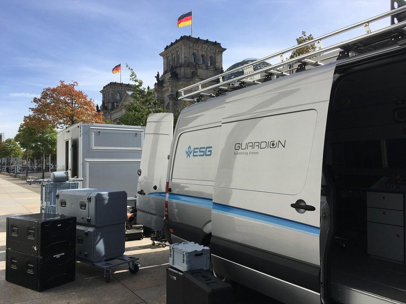 Einsatz von GUARDION am Berliner Reichstag 1 sm