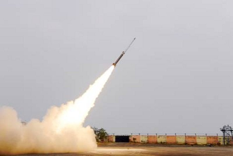 India's DRDO flight tests SFDR propulsion based missile system