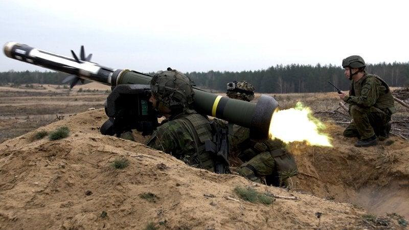 Javelin anti-tank