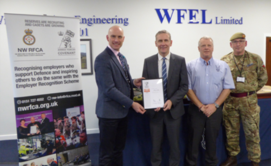 WFEL Armed Forces Award Feb 2019