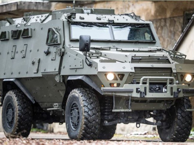 Fortress offers STANAG 4569 standard protection against mines and improvised explosive devices (IED). Image courtesy of Arquus.