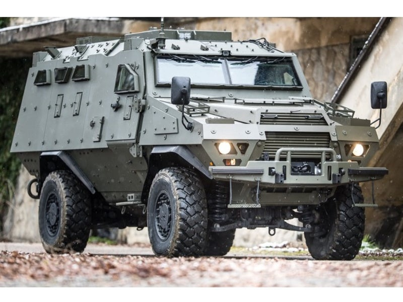 3l-image-Arquus Fortress Armoured Personnel Carrier (APC)