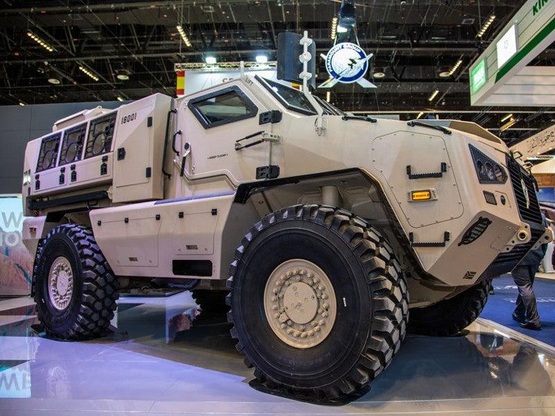 United Arab Emirates (UAE) is the launch customer of the Mbombe 4 APC. Image courtesy of Paramount Group.