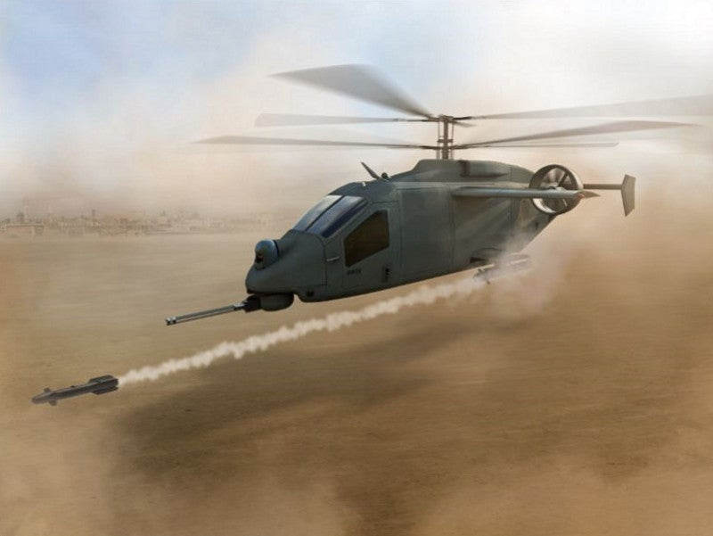 The Compound coaxial helicopter design was revealed in April 2019. Image courtesy of L3 Technologies.
