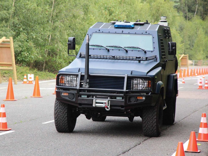 Jankel Hunter Protected Personnel Vehicle