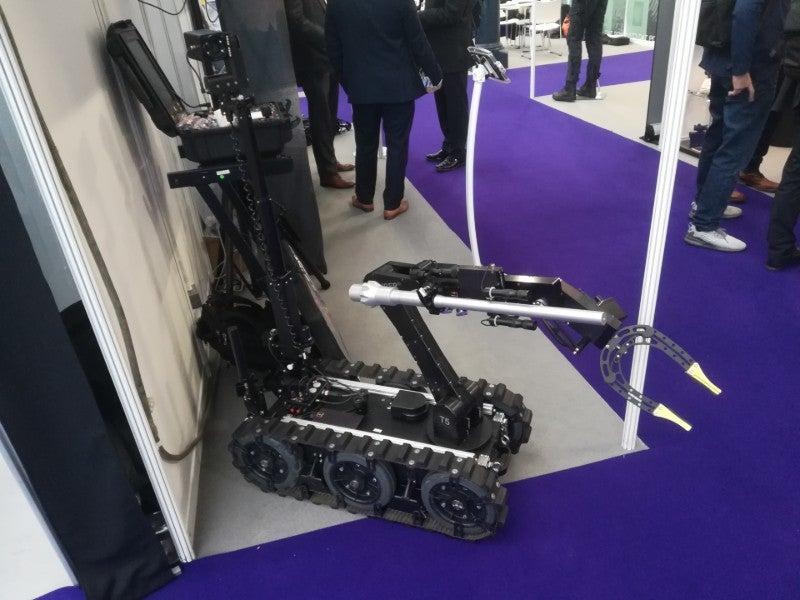 ICOR CALIBER T5 EOD robot