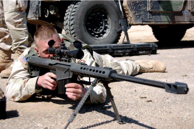 M82rifle US Army Gul A Alisan