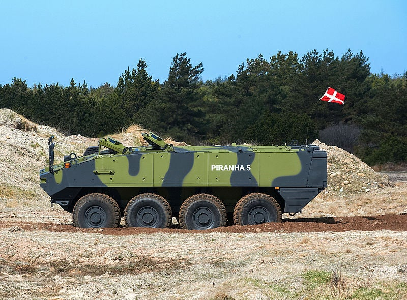 wheeled armoured vehicles