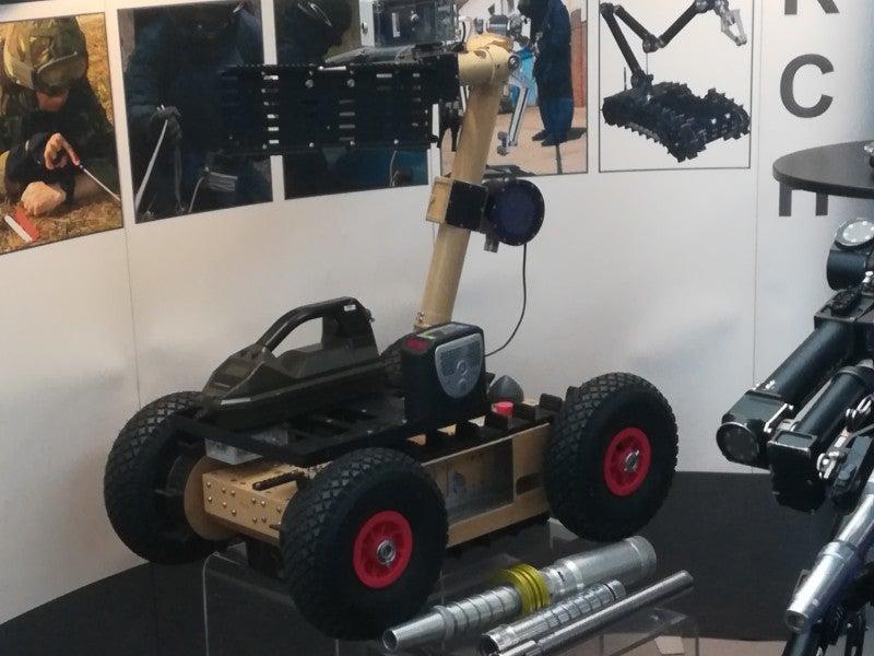 NIC Instruments Zeus EOD robot modified