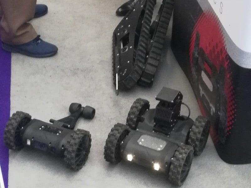 Nexter Robotics NERVA LG UGV