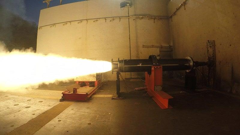 DeepStrike missile rocket motor