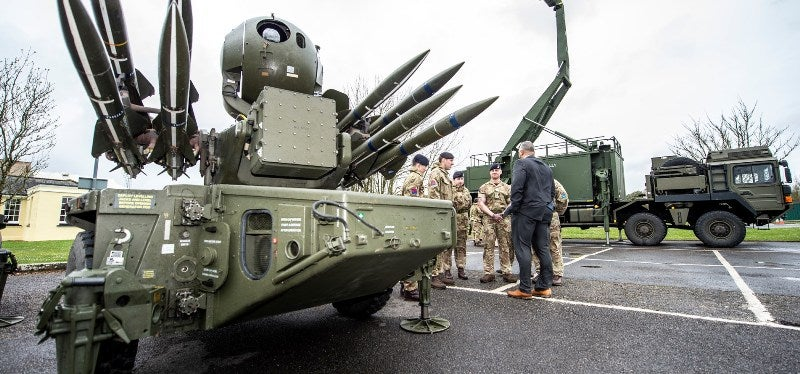 British Army air defence systems