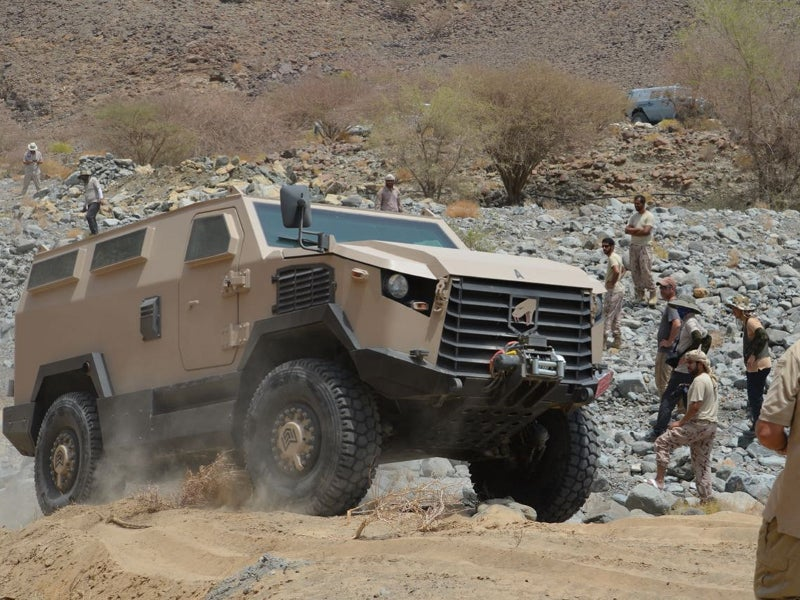 Viper 4x4 MRAP offers STANAG level 3A &3B and STANAG level 4 protection. Image courtesy of Mobile Land Systems.