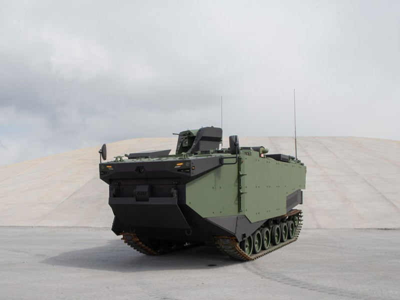 The amphibious vehicle was launched at the IDEF 2019 exhibition held in May 2019. Image courtesy of FNSS.