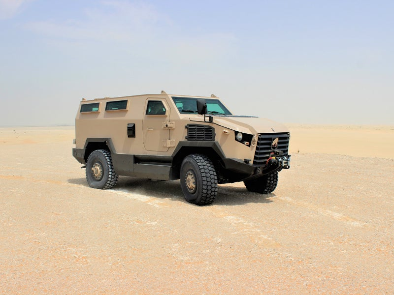 Viper 4x4 MRAP can accommodate two crew and eight troops. Image courtesy of Mobile Land Systems.