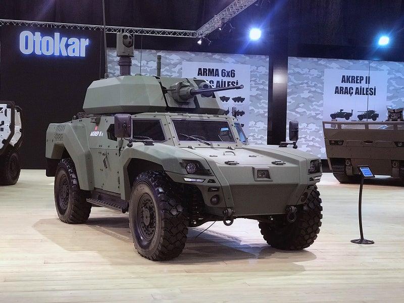 The maximum speed of the vehicle is 110km/h. Image courtesy of Otokar Otomotiv ve Savunma Sanayi A.Ş.