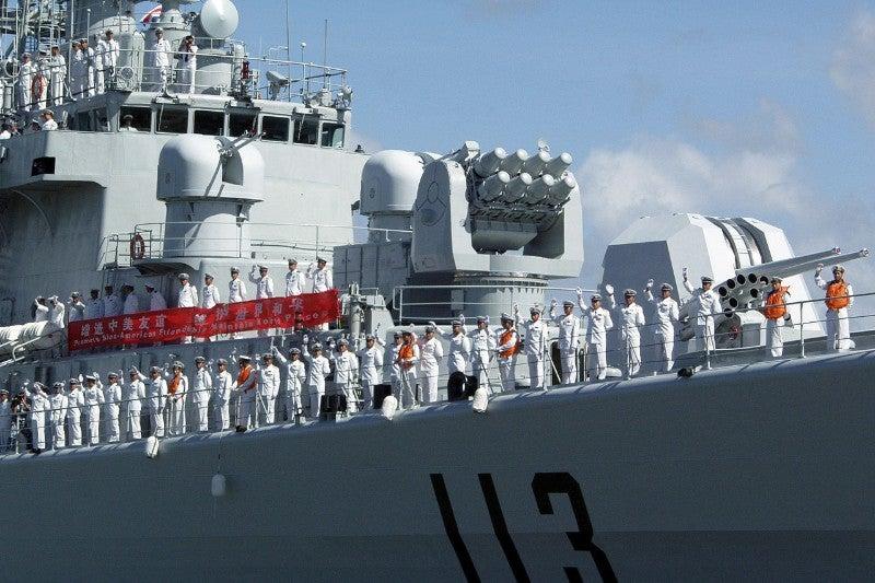 China US Navy David Rush