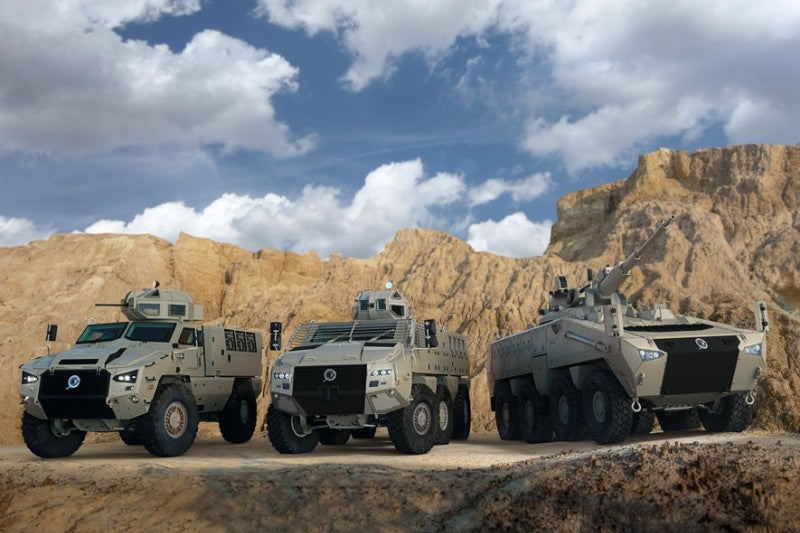 South African armoured vehicles