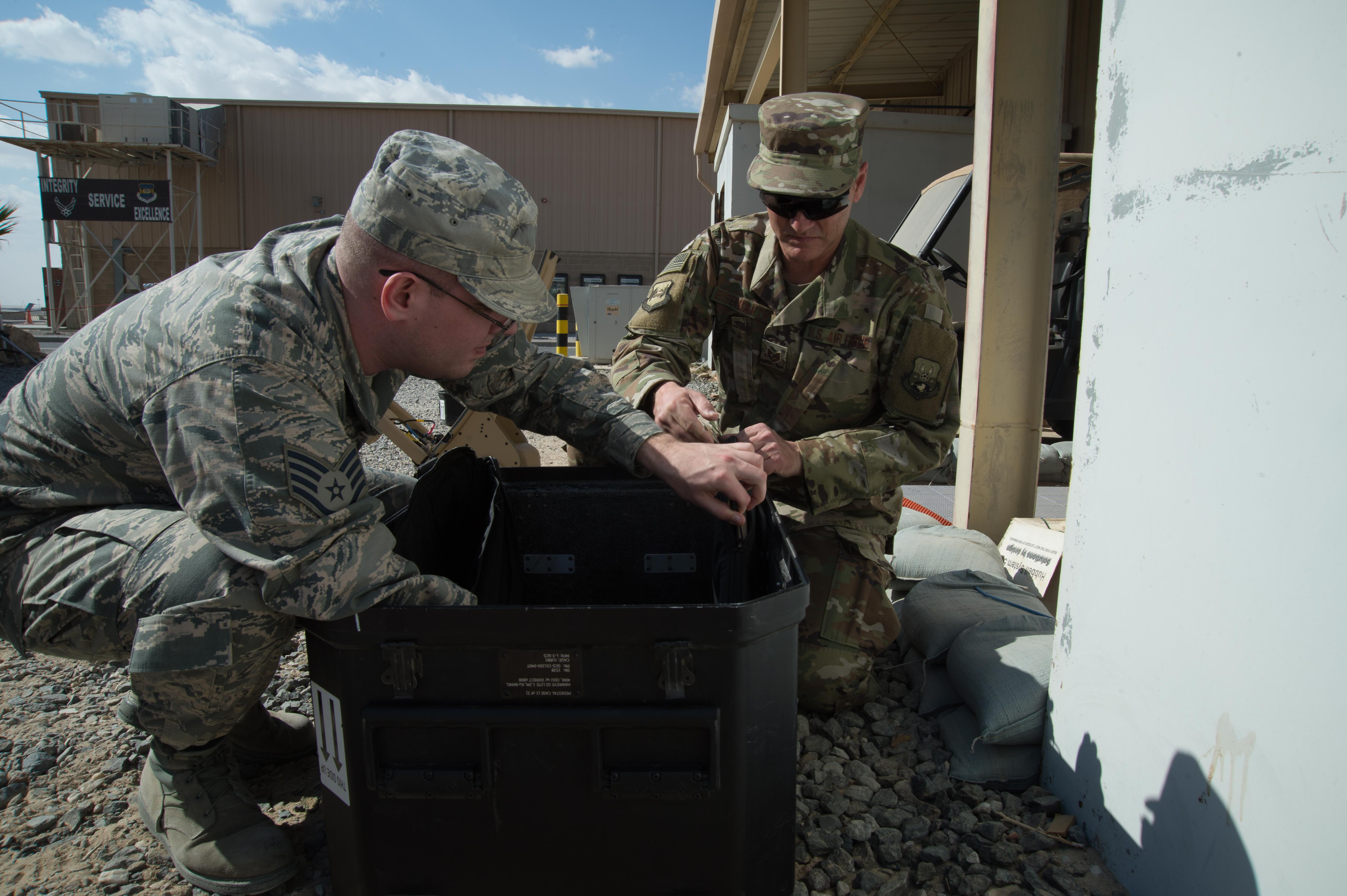 Exploring the next frontier of military communications