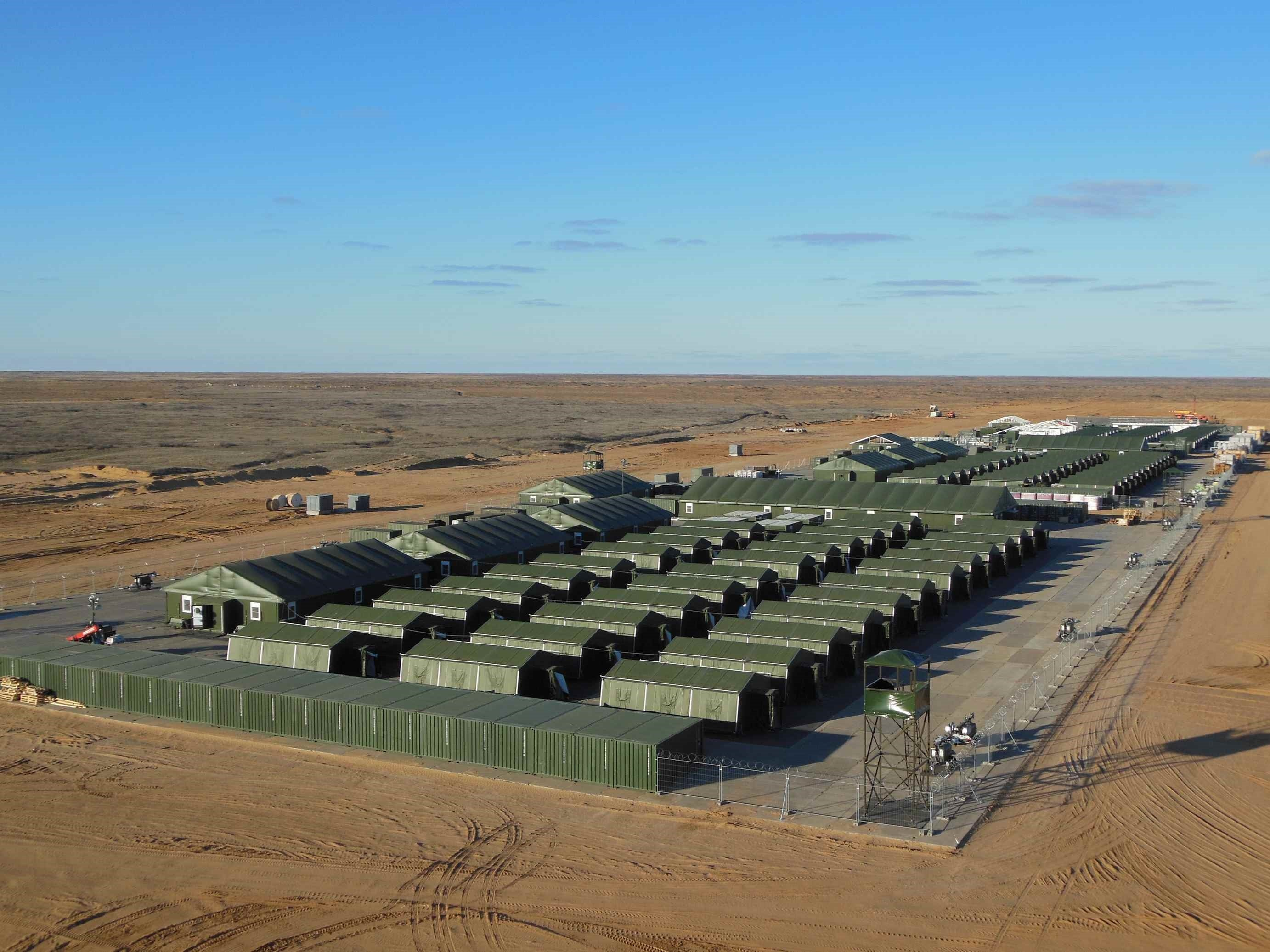 camp accommodation and operational 2