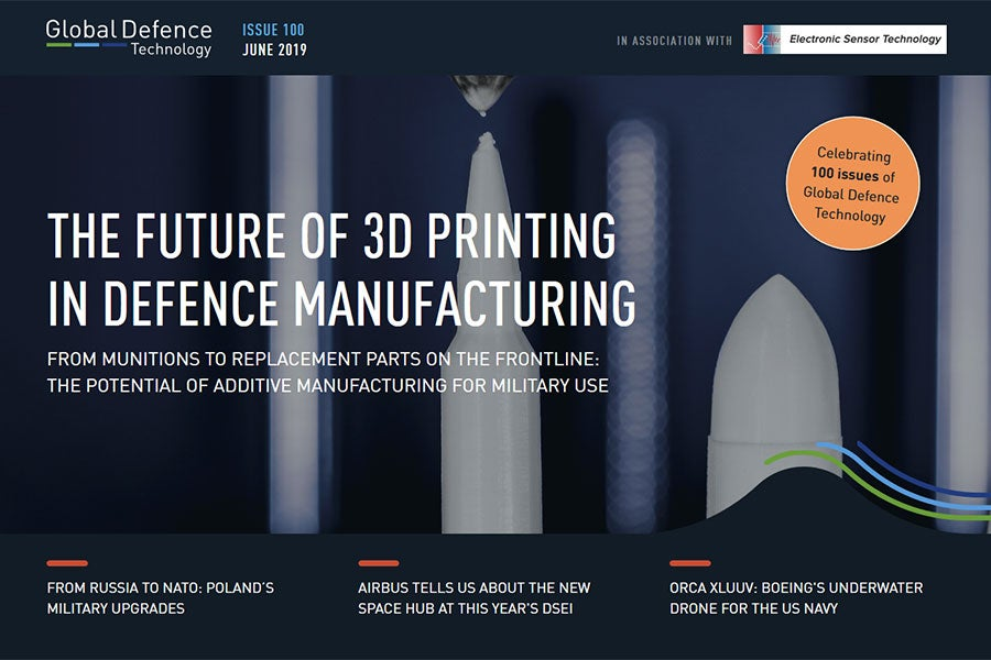 43e2da0c965 3D printing in defence manufacturing: issue 100 of Global Defence  Technology out now