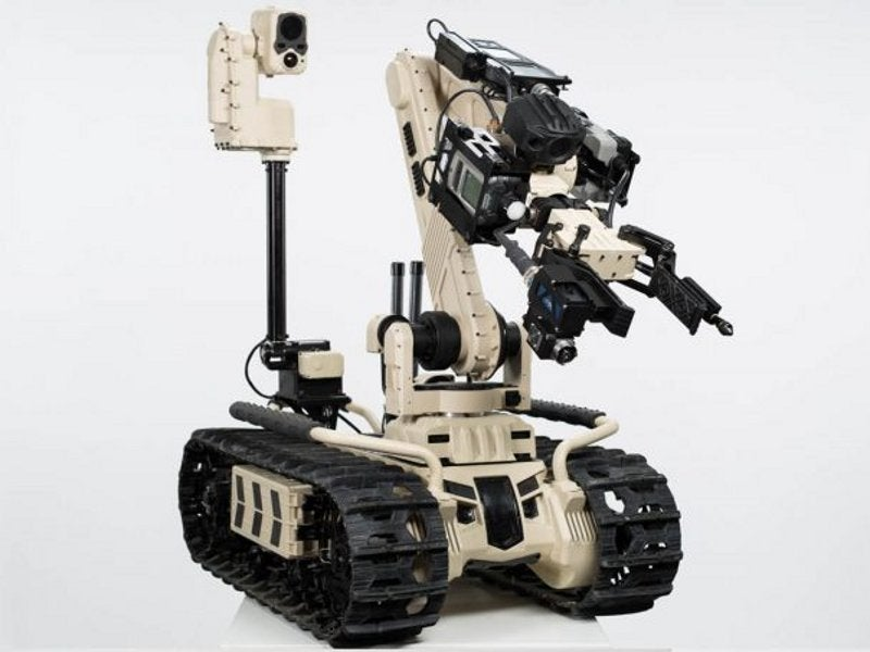 TIGR UGV was launched during the AUSA Annual Meeting 2017. Image courtesy of Roboteam.