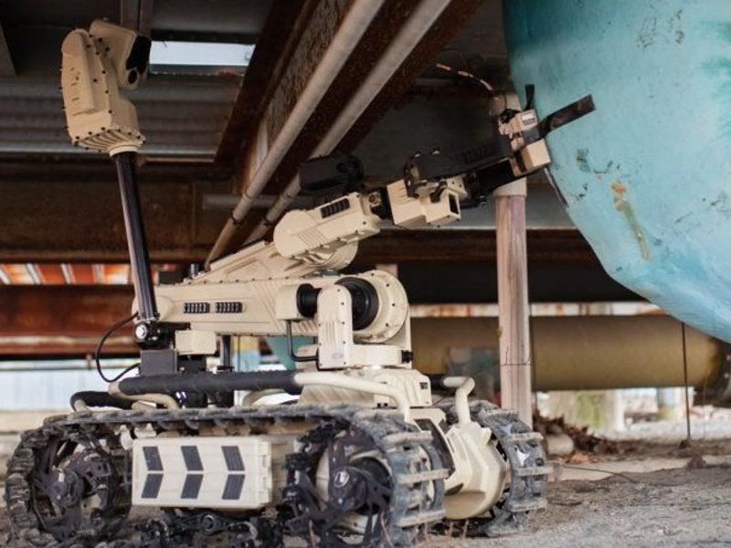 3l Roboteam Transportable Interoperatble Ground Robot (TIGR) UGV- Image