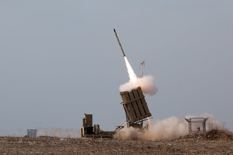 Iron Dome rocket defence system
