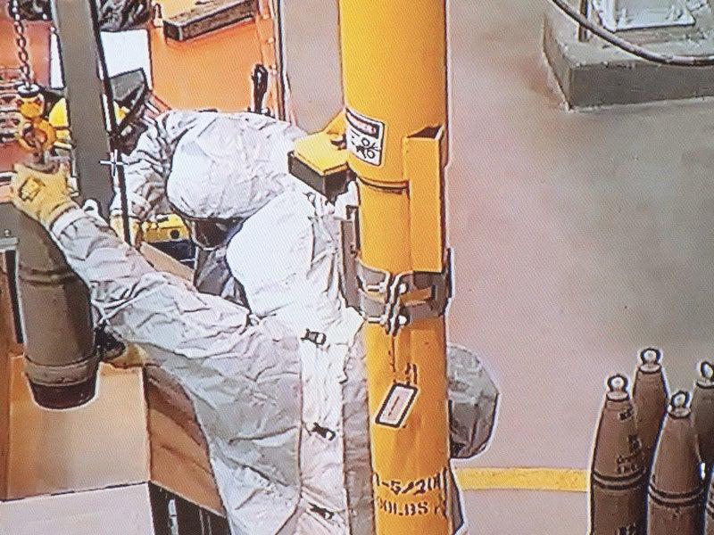 US chemical weapons stockpile destruction