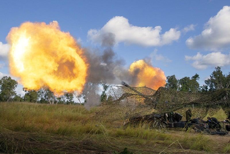 JGSDF howitzers