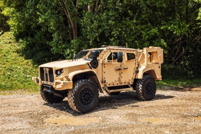 JLTV vehicle US Army