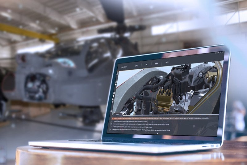 Lockheed Apache aircraft maintainers RELY3D