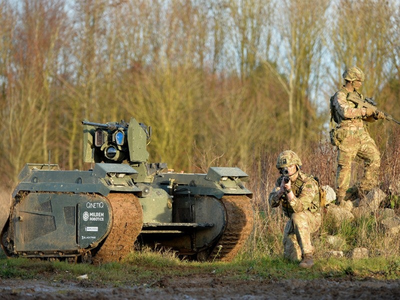 In pictures: the UK MoD's future robot army