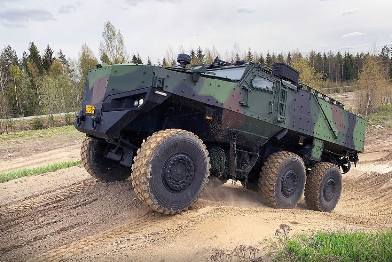 Protolab 6x6 armoured vehicle