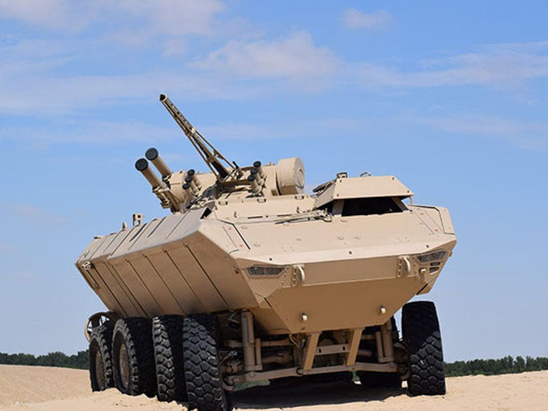 Wahash was unveiled at the IDEX 2019 held in Abu Dhabi, in February 2019. Image courtesy of Calidus.