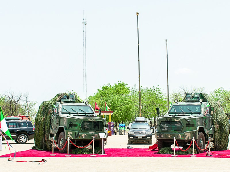 The Ara MRAP has been in service with the Nigerian armed forces since 2018.