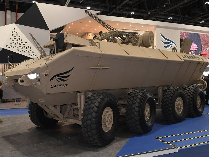 The Wahash APC can carry a maximum payload of 10,800kg. Image courtesy of Ukroboronprom.