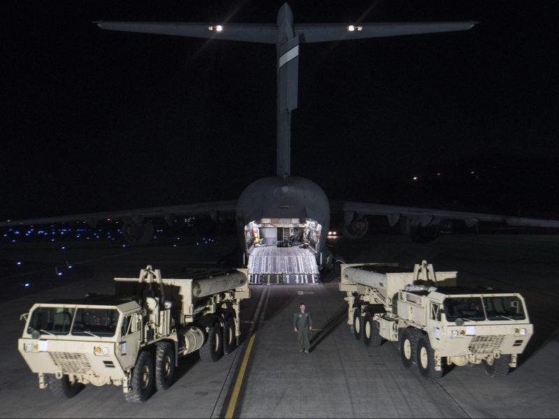 THAAD deploys to Republic of Korea