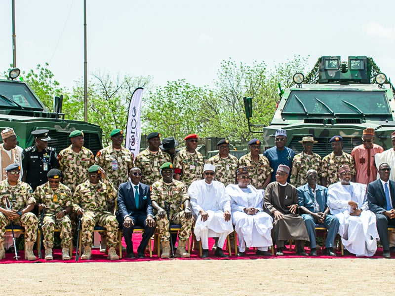 Ara2, an upgraded version of Ara, was unveiled during the Nigerian Army Day celebrations held in June 2019. Image courtesy of Proforce.