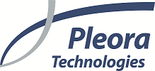 Pleora logo 600 dpi
