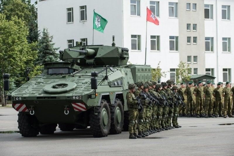 Vilkas infantry fighting vehicles